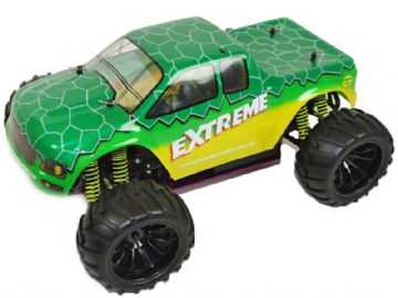 Radio Control Monster Truck EXTREME 1-10 Scale Pro Spec 7.2v 4WD Off Road RC Model